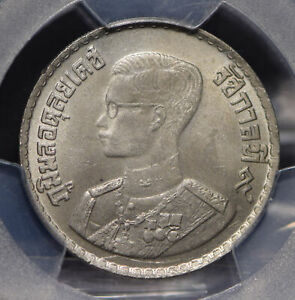 Thailand 1957 BE2500 Baht PCGS MS64 Y-82.1 PC0523 combine shipping
