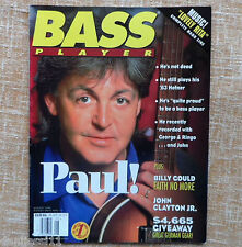 Bass Player Magazine, Agosto 1995, Vol. 6, nº 5, Paul McCartney, 97 páginas