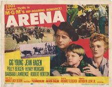 Arena ,1958, Gig Young and Jean Hagen, Title Card!