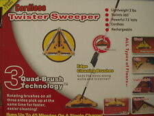 New NiHM Battery Power Twister Sweeper As Seen On TV