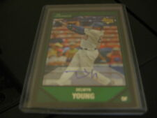 2007 BOWMAN LOS ANGELES DODGERS DELWYN YOUNG AUTOGRAPH