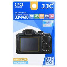 JJC LCP-P600 LCD Film Camera Screen Display Protector for NIKON COOLPIX P600