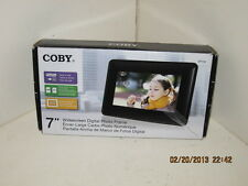 Coby Widescreen Digital Photo Frame with Photo Slideshow Mode - DP730-NEW IN BOX