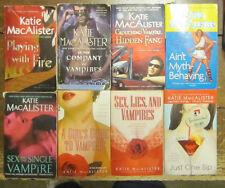 8 Katie MacAlister Vampire Paperbacks Girl's Guide Crouching One Sip Sex Lies