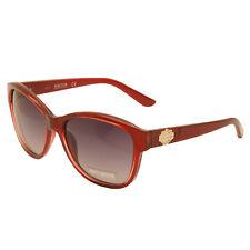 Harley Davidson - Shiny Metallic Red Cat Eye Style Sunglasses with Case