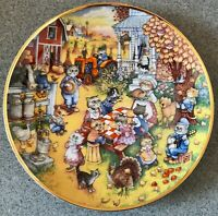Bill Bell A Purrfect Feast Collector's Plate Franklin Mint               TR0497