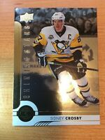 UPPERDECK 2017-2018 SHINING STARS SIDNEY CROSBY HOCKEY CARD SSC-9