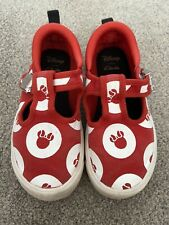 Clarks Minnie Mouse Shoes 8 F