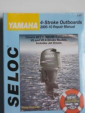 YAMAHA OUTBOARD SERVICE REPAIR MANUAL 2005 -2010 2.5 TO 350 4 STROKE SELOC 1707