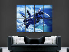 Avion F18 avion militaire wall poster art photo imprimé grand énorme