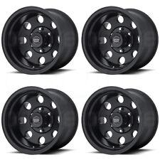 16x10 American Racing AR172 Baja 6x139.7/6x5.5 -25 Satin Black Wheel New set(4)