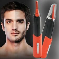 Hair Trimmer 2 In 1 Male Switchblade Mustache Beard Eyebrow Hair Trimmer Shaver