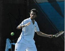 Autographed Adrian Mannarino ATP Tennis 8x10 Photo