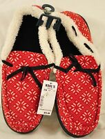 YG Men's Urban Pipeline slippers size large (10-11) red thick padded insole