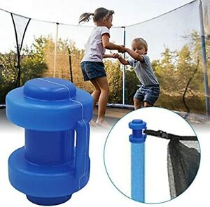 8PCS Trampoline Enclosure Pole Caps Thickened and Durable Trampoline Pole Cap
