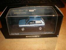Minichamps 1:43 Fiat Panda 1980 Polizia   MIB (ds17/N0174)
