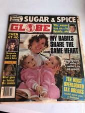 Vintage Globe Tabloid Magazine - January 14, 1986 - Pro Wrestling, Barry Windham