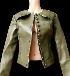 Dollheart Olive Green Jacket Coat 1/3 SD10 SD13 Girl BJD Clothes Youpla Tamara