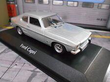W. MINI FORD CAPRI 1 MKI COUPE LIGHT BLUE GT 1969 NUOVO MAXI Champs Minichamps 1:43