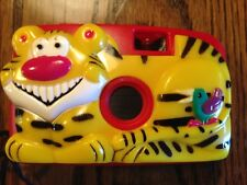 35mm Kid Com Children's Camera, C104 Tiger and Toucan, Red Shell