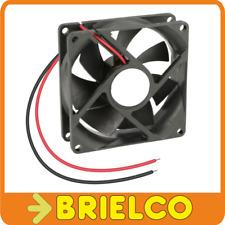 VENTILADOR TERMOPLASTICO 24VDC 3.12W 80X80X25MM 3000 ROTAC/MIN 2 CABLES BD4124