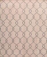 IVORY Moroccan Trellis Geometric Modern Oriental Hand-Knotted Area Rug 8x10 Wool