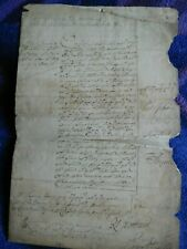 King James II and Lord Rochester signed document 1685