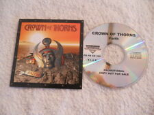 "Crown of Thorns ""Faith"" 2008 cd Frontiers Records Promotional  NEW  Voice OP"