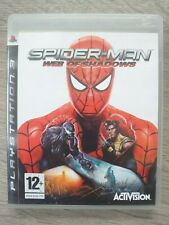 SPIDER-MAN: Web of Shadows PS3 (Sony PlayStation 3, 2008)