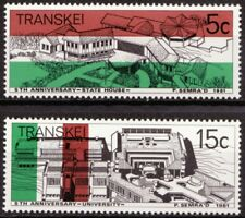 Transkei 1981 Mi 96-97 Onafhankelijkheid, Independence MNH
