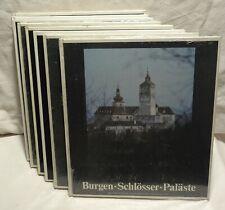 Bildzeugnisse österreichischer Kultur - 8 Bände - Trachten Dächer  Burgen (A168)