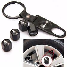 Black AMG Car Tire Wheel Valve Stems Caps for Benz C180 E260 E300 C E S Class