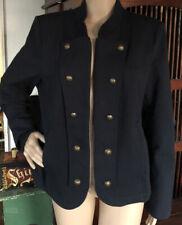 tommy hilfiger Navy Military Style Jacket Size XL. New...