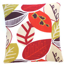 DESIGNER Clarke and Clarke Malena Summer Fabric Cushion Cover 12x12 Same as Front