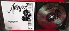 RON DI SALVIO Allegro CD jazz piano 1990 folk-songs Michigan Chant Arabe