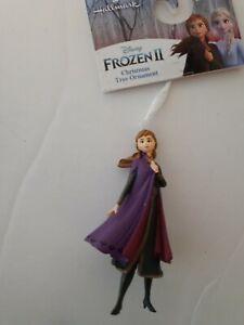 Disney Hallmark Frozen 2 Christmas tree Ornament Anna