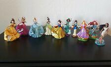 Disney PRINCESS Christmas Ornament Set Belle Aurora Snow White Cinderella Mulan+