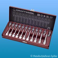 """Kraftwerk ® 2025 TX - Bit - Steckschlüssel - Satz - 1/2"""" 23.-tlg"""