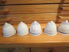 Five Vintage Lladro Bells/Ornaments-1988-1989 -1990-1992-1993-#Lpr2-#2