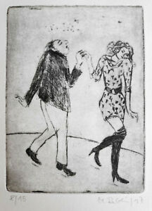 "Reblin, Maren (1943 Swinemünde, lebt in Panketal) ""Der Tanz / Entrückt"""