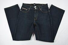 Calvin Klein Five Pocket Boot Cut Denim Blue Jeans size 6 (32x28)