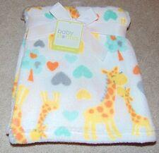 ~NWT Girls BABY STARTERS Giraffes,Hearts & Trees Soft Blanket! Cute FS:)~
