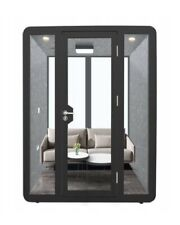 Mobile Soundproof Booth- Workstation  - Acoustic Cabin - GRANDE OFFICE
