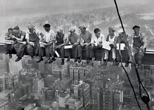 "LUNCH ATOP A SKYSCRAPER POSTER ""NEW YORK CONSTRUCTION WORKERS LUNCHING"" LICENSED"