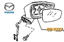 Genuine Mazda CX-5 2012-2017 Door Mirror Body - RH - KE7869121H