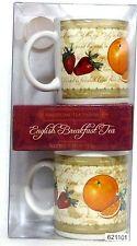New in Box!!  American Tea House English Breakfast Tea and 2 Mugs Set