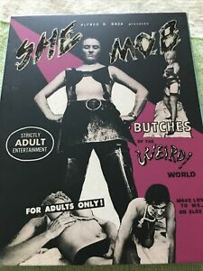 She Mob Blu Ray W/ Slip Agfa Reg.free