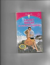 AN INTERRUPTED MARRIAGE by Laurey Bright (1994, Paperback)