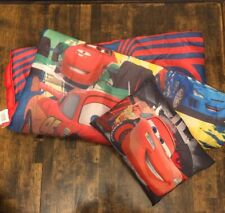 Disney Cars Sleeping Bag, Lightning McQueen, With Matching Pillow. Location 15