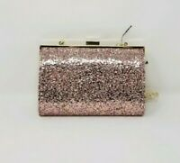INC International Concepts Loryy Glitter Clutch - Pink/Gold